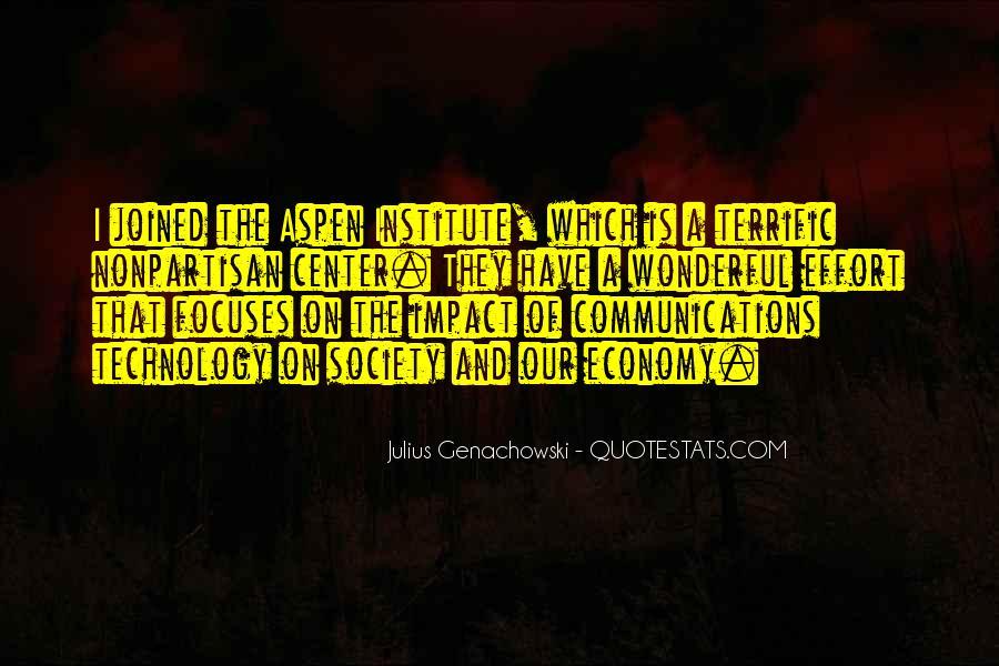 Aspen Institute Quotes #1850513