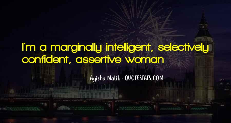 Assertive Confident Quotes #576332