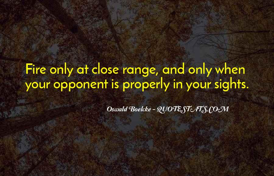 At Close Range Quotes #1447652
