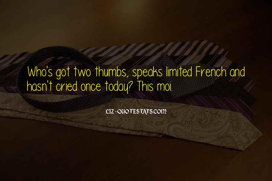Quotes About Moi #158337