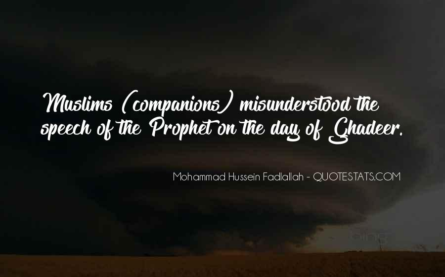 Quotes About Mohammad #1154889