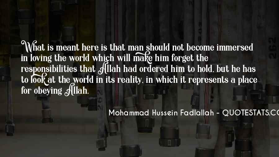 Quotes About Mohammad #1176251