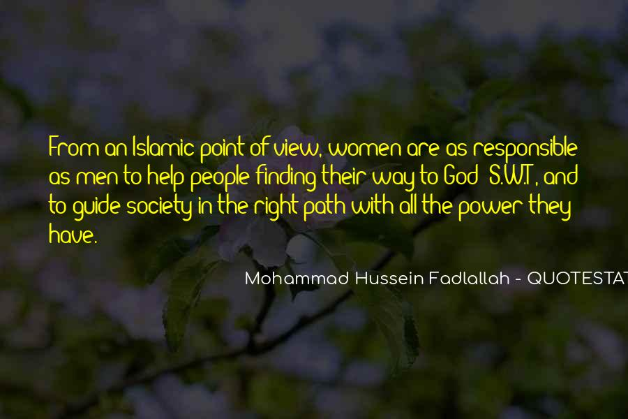 Quotes About Mohammad #24490