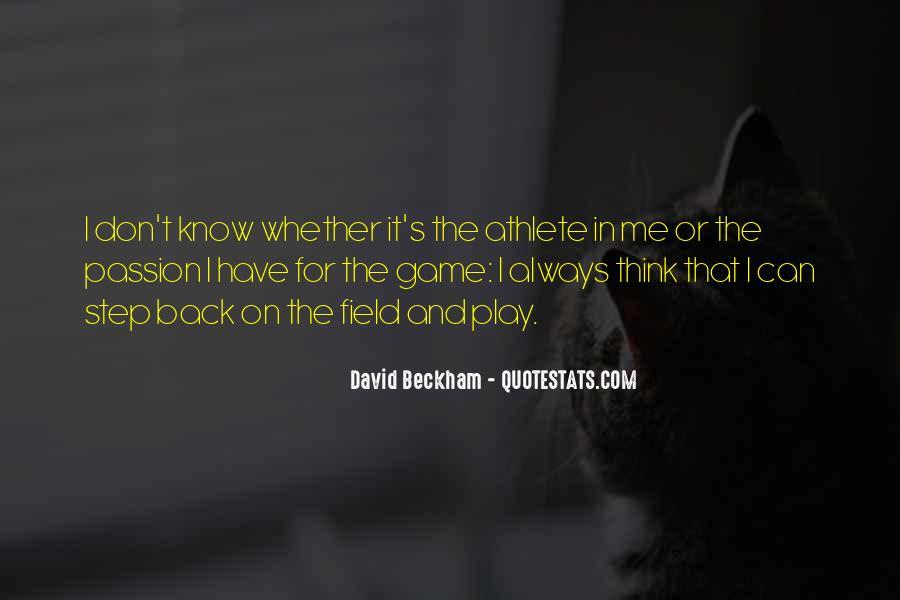 Athlete Passion Quotes #1037722