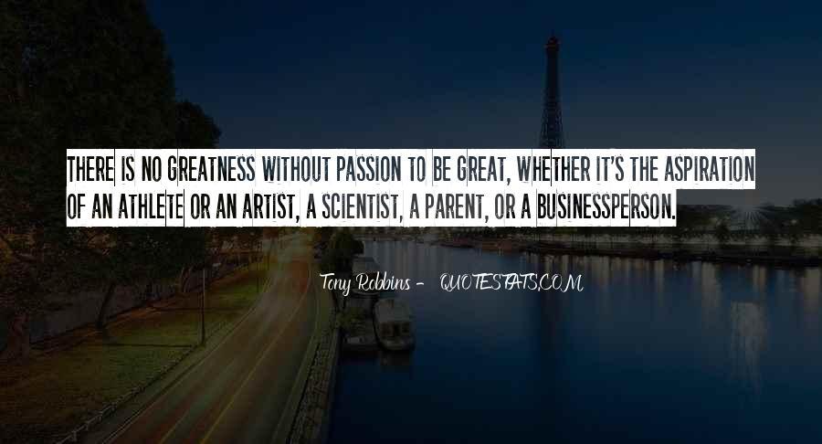 Athlete Passion Quotes #1047905