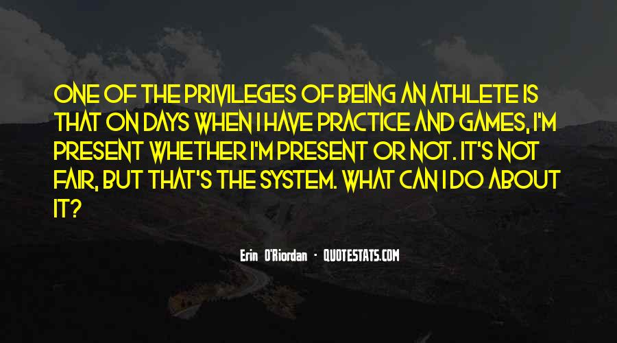 Athlete Practice Quotes #484077