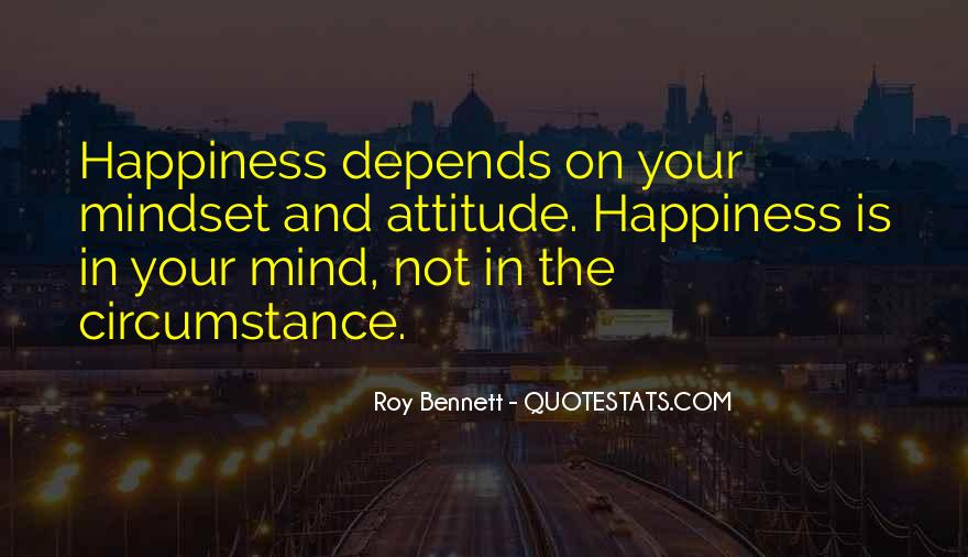 Attitude Depends On You Quotes #383335