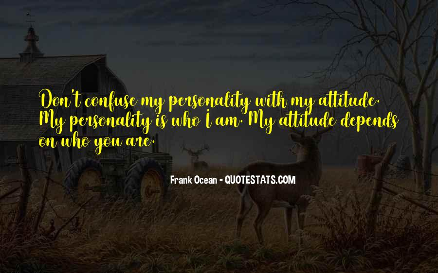Attitude Depends On You Quotes #386041