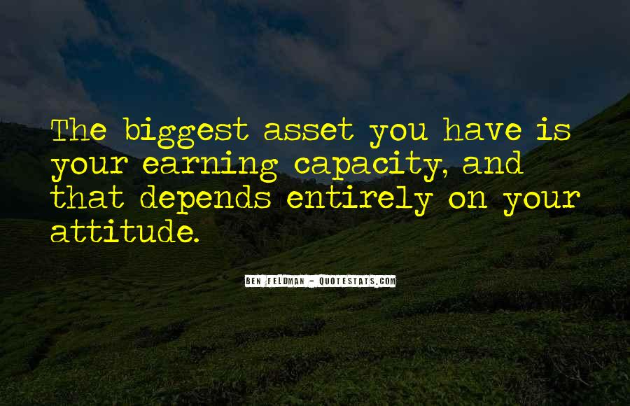 Attitude Depends On You Quotes #74331