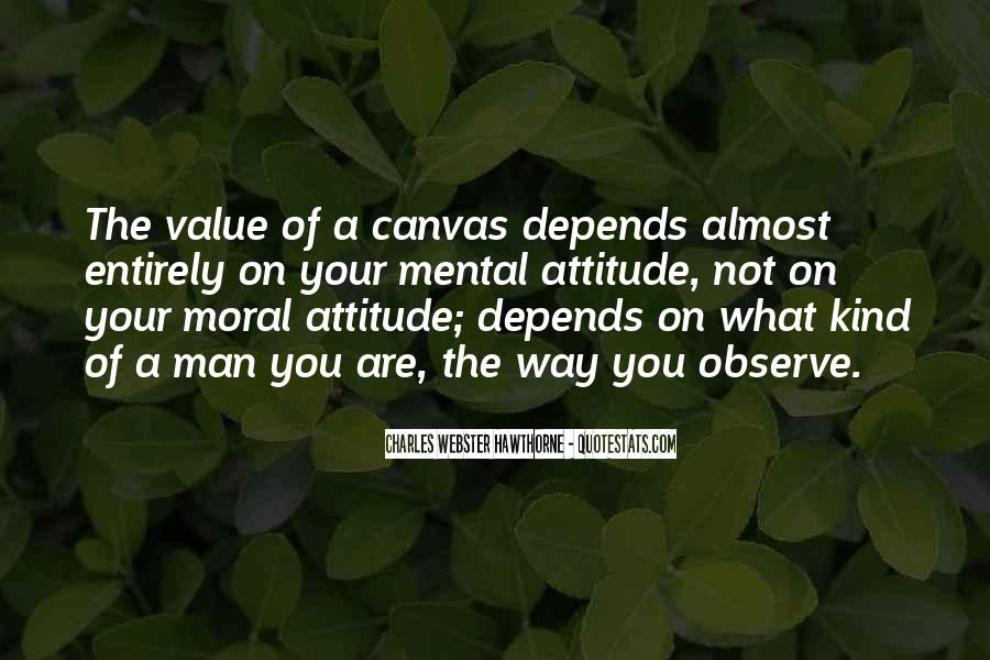 Attitude Depends On You Quotes #881292