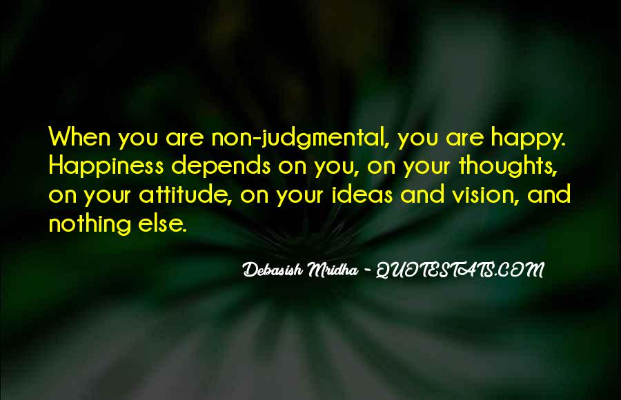 Attitude Depends On You Quotes #909549