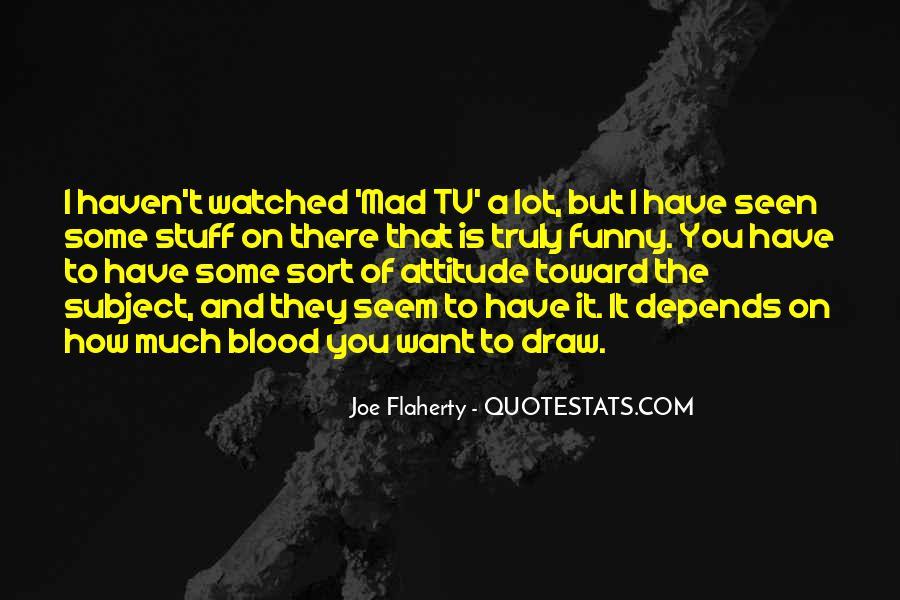 Attitude N Funny Quotes #1530243