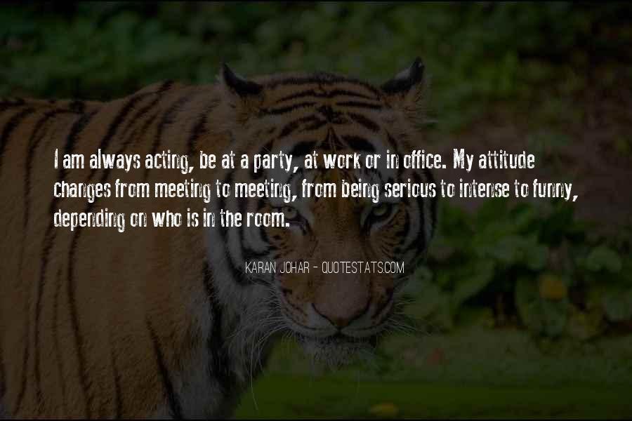 Attitude N Funny Quotes #1873520