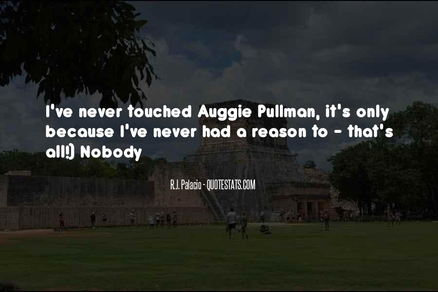 Auggie Pullman Quotes #1446321