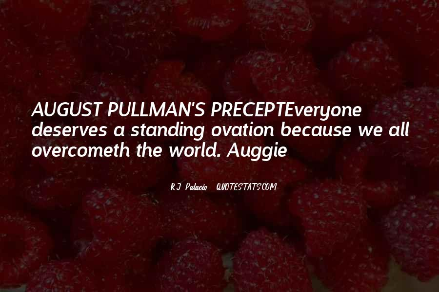 Auggie Pullman Quotes #943927