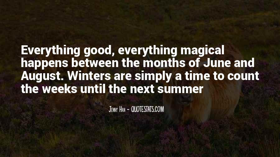 August Summer Quotes #1074930