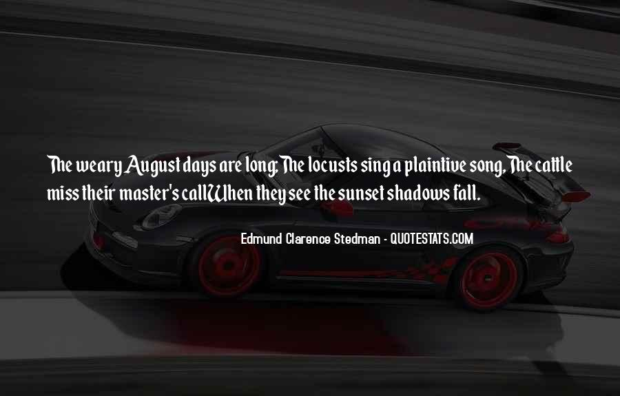 August Summer Quotes #1085038
