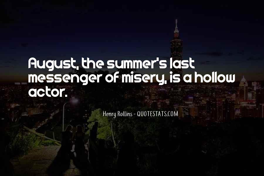 August Summer Quotes #1159410