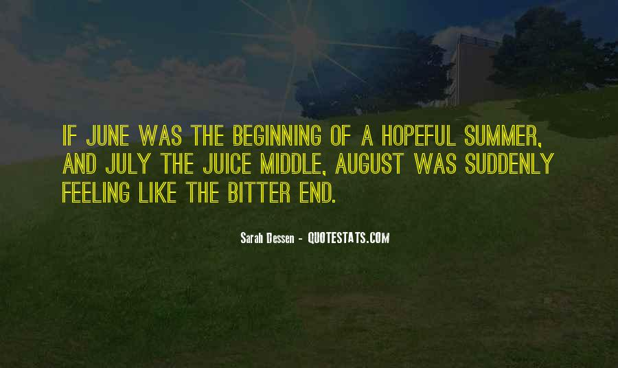 August Summer Quotes #1187831
