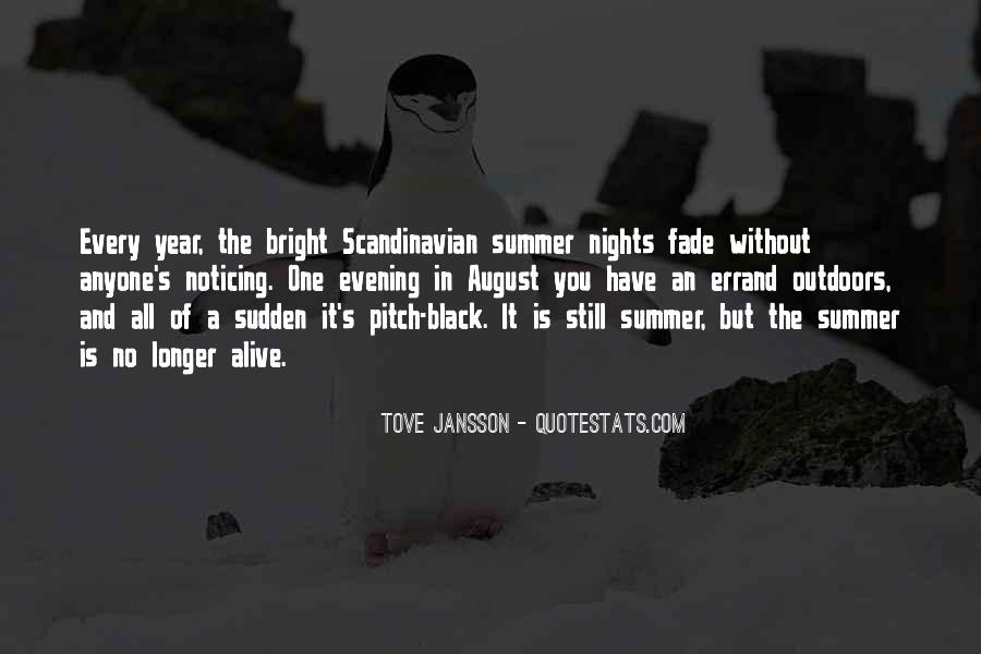 August Summer Quotes #1381160