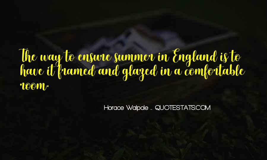 August Summer Quotes #168403