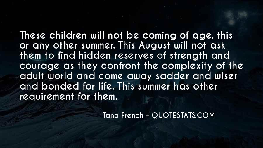 August Summer Quotes #1735268