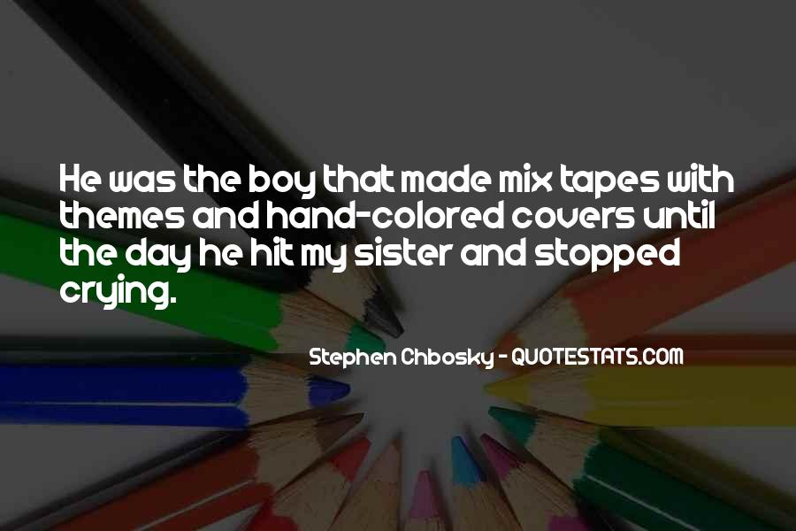 Quotes About Mix Tapes #1438216
