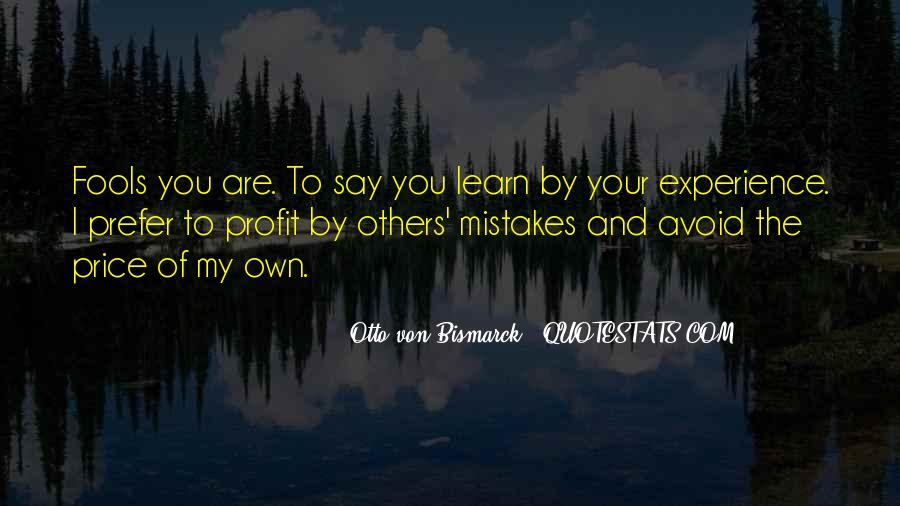 Quotes About Mistakes Of Others #1002288