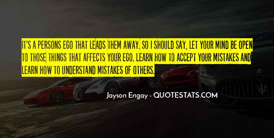 Quotes About Mistakes Of Others #1018698