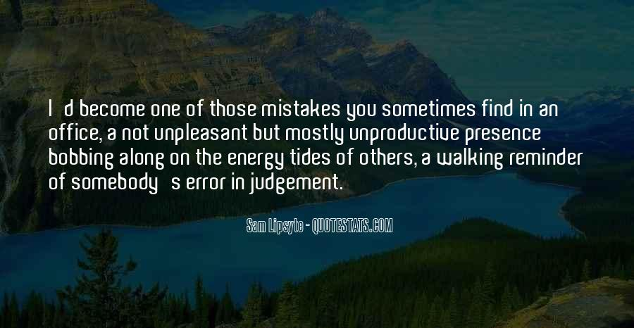 Quotes About Mistakes Of Others #1047281