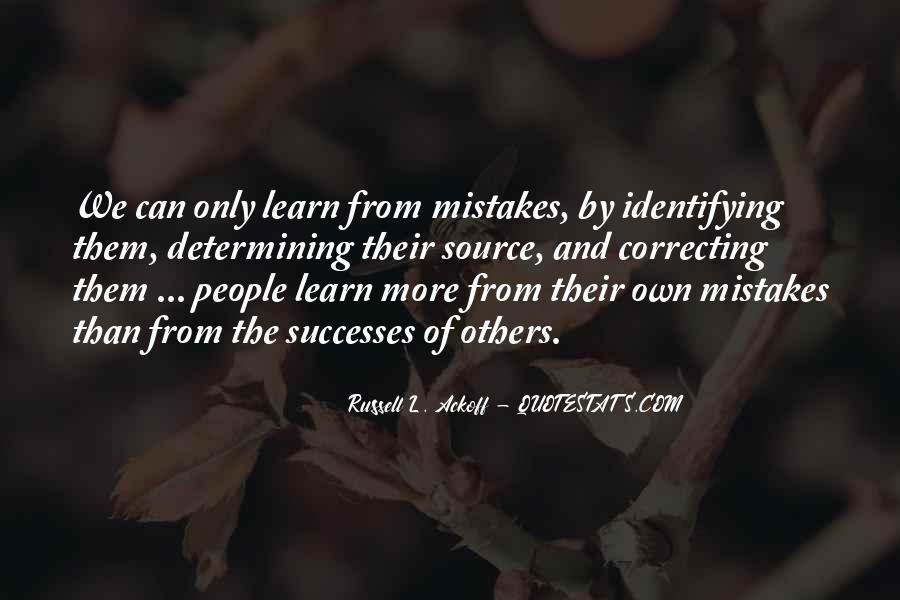 Quotes About Mistakes Of Others #1066133