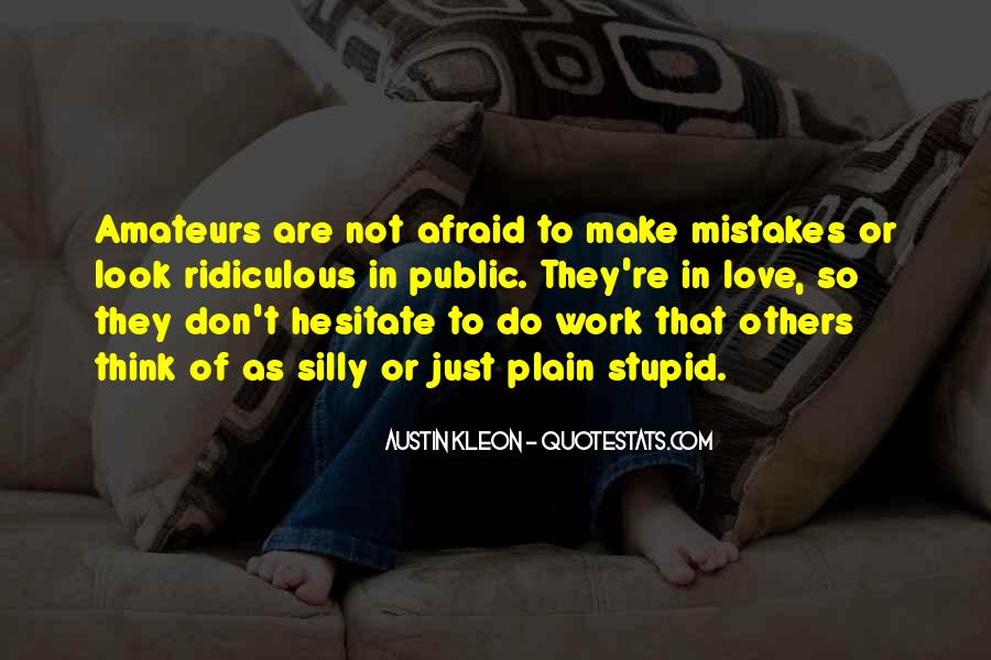 Quotes About Mistakes Of Others #109540
