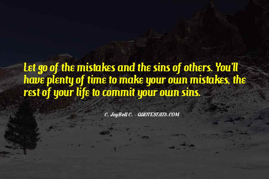 Quotes About Mistakes Of Others #1237298