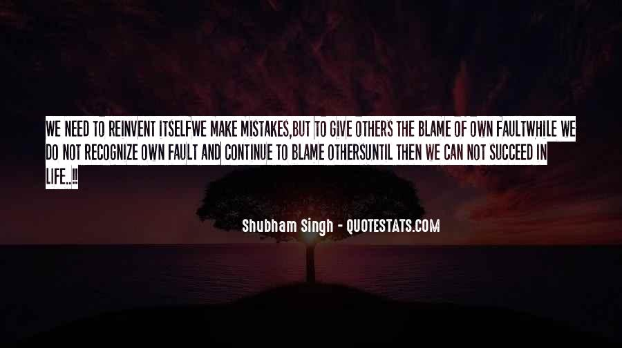 Quotes About Mistakes Of Others #1248455