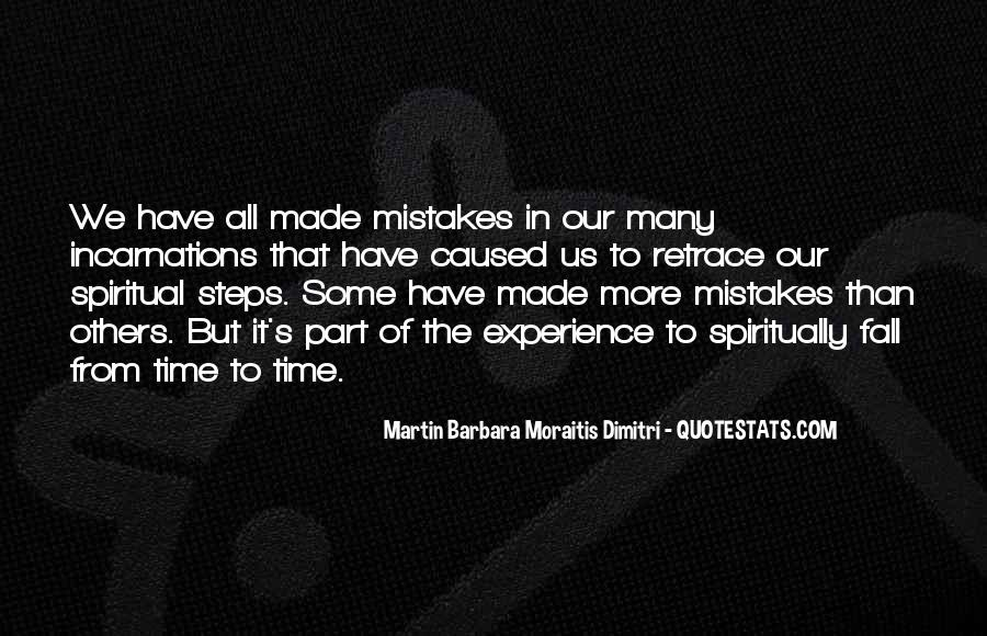 Quotes About Mistakes Of Others #1287569