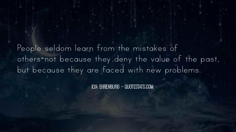 Quotes About Mistakes Of Others #1395815