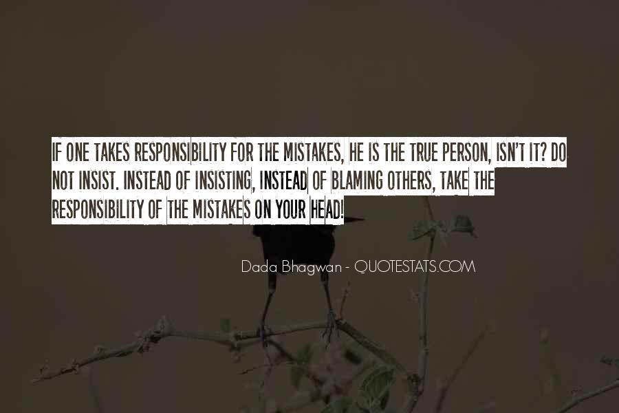 Quotes About Mistakes Of Others #1435077