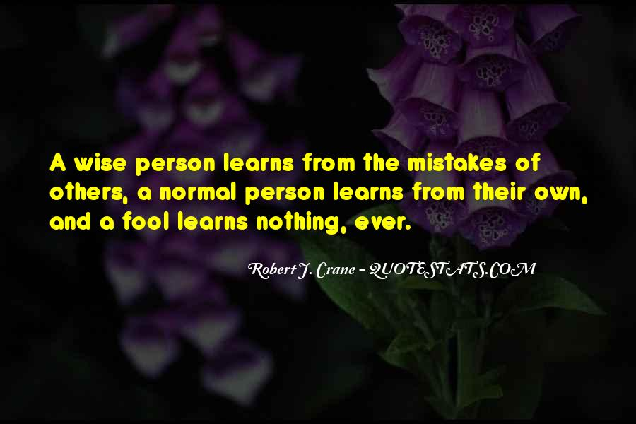 Quotes About Mistakes Of Others #1468856