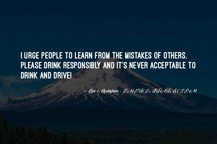 Quotes About Mistakes Of Others #1474081
