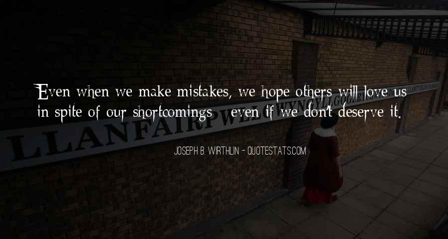 Quotes About Mistakes Of Others #1551629