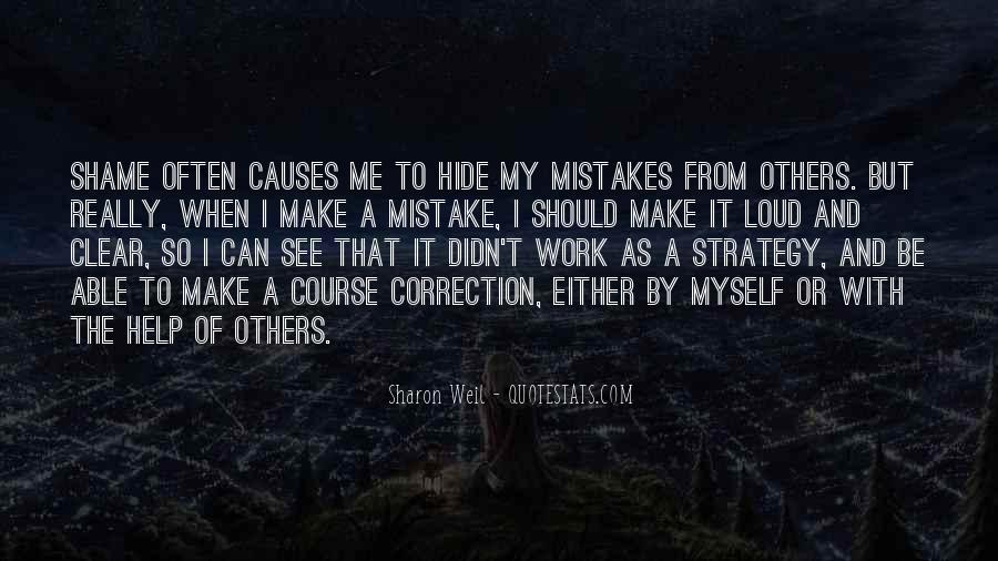 Quotes About Mistakes Of Others #1583055