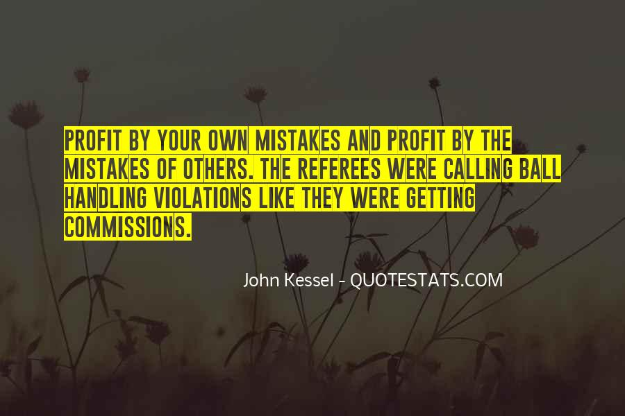 Quotes About Mistakes Of Others #1626578