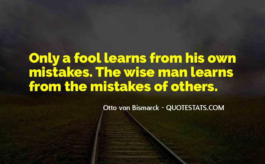 Quotes About Mistakes Of Others #1665982