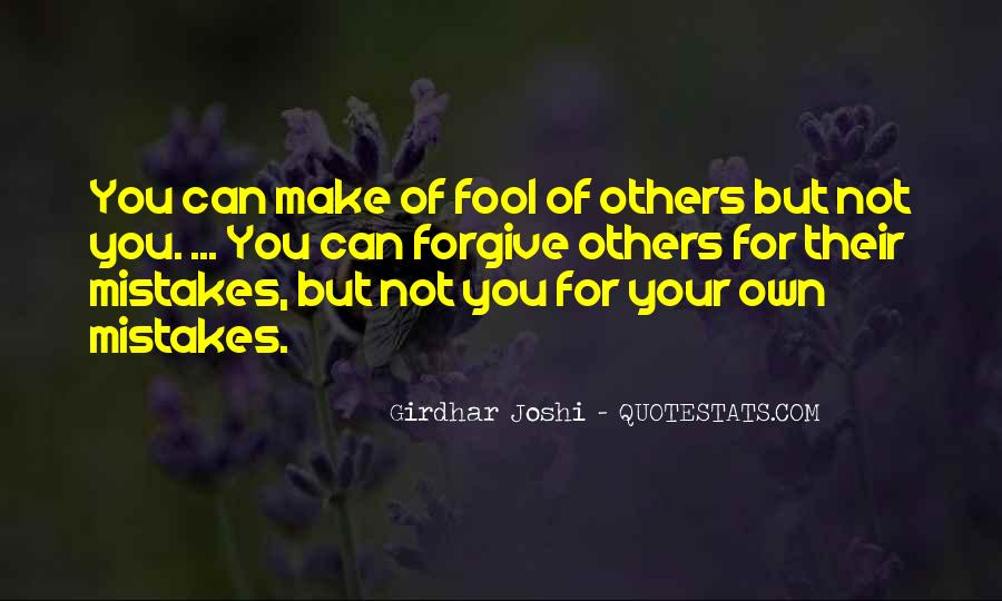 Quotes About Mistakes Of Others #1728288