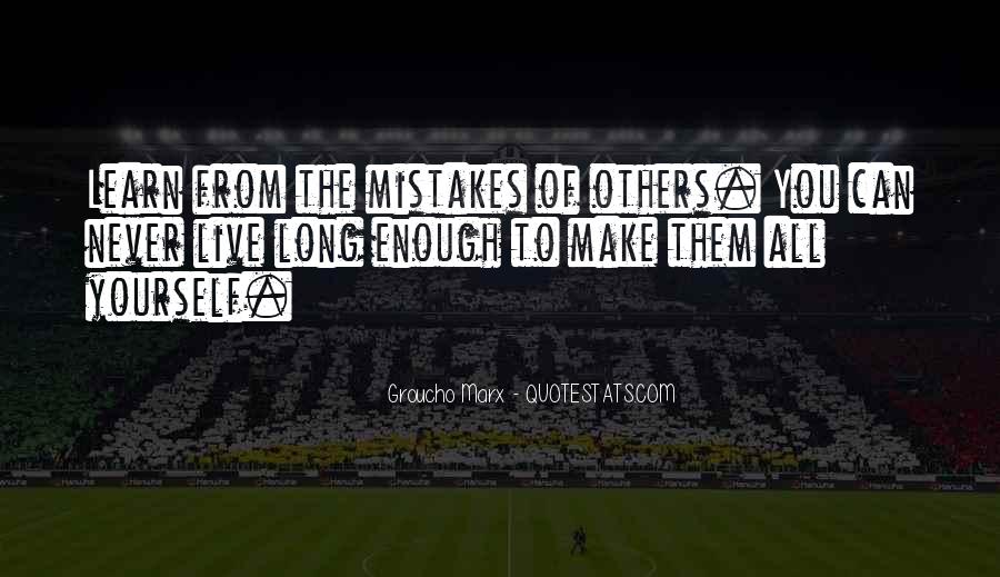 Quotes About Mistakes Of Others #1871625