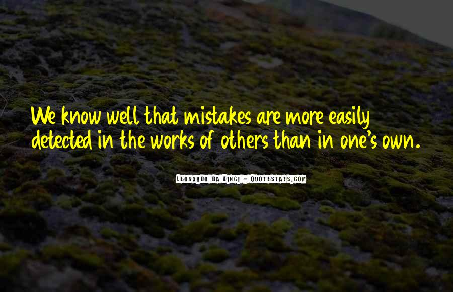 Quotes About Mistakes Of Others #201192