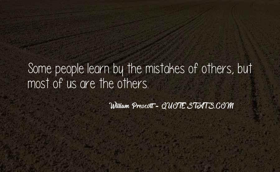 Quotes About Mistakes Of Others #388869