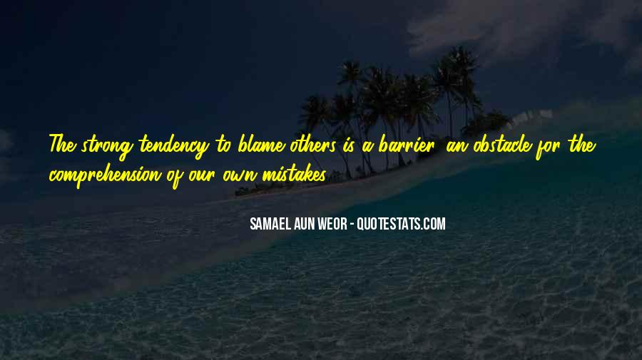 Quotes About Mistakes Of Others #525018