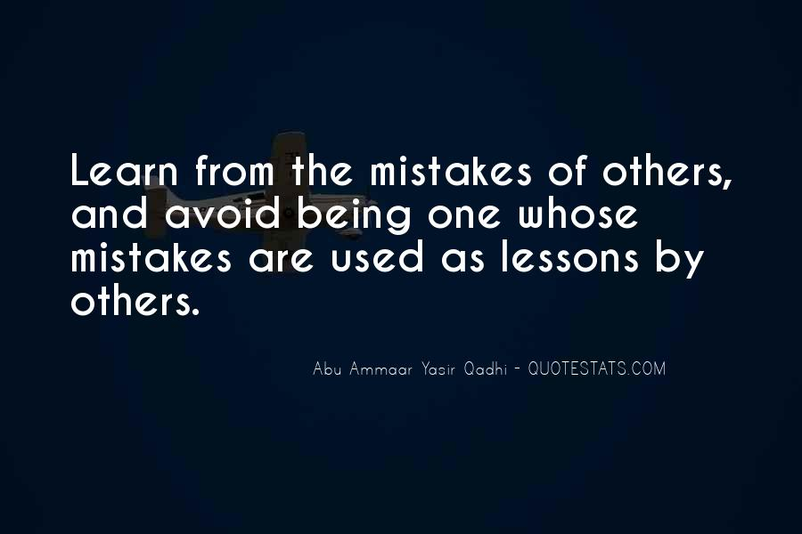 Quotes About Mistakes Of Others #793845