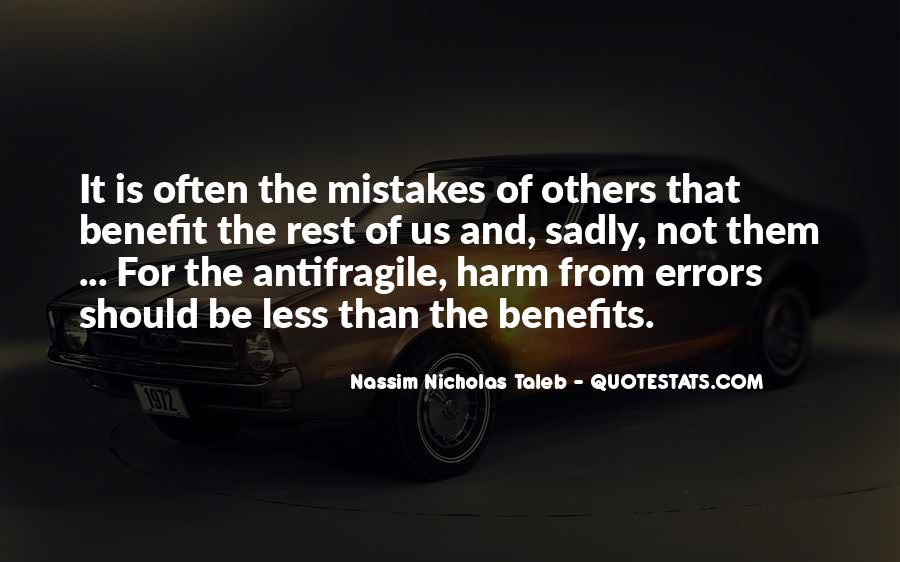 Quotes About Mistakes Of Others #802675